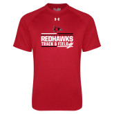 Bookstore Under Armour Red Tech Tee-Track & Field