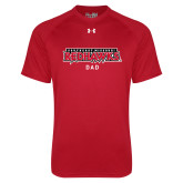 Bookstore Under Armour Red Tech Tee-Dad