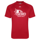Bookstore Under Armour Red Tech Tee-Basketball