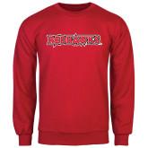 Red Fleece Crew-Redhawks