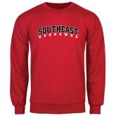Red Fleece Crew-Southeast Redhawks