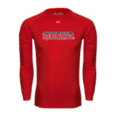 State Under Armour Red Long Sleeve Tech Tee-Southeast Missouri Redhawks