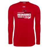 Bookstore Under Armour Red Long Sleeve Tech Tee-Track & Field