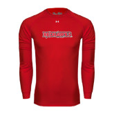 State Under Armour Red Long Sleeve Tech Tee-Redhawks