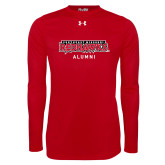 Bookstore Under Armour Red Long Sleeve Tech Tee-Alumni