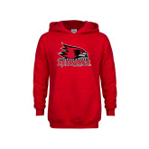 Bookstore Youth Red Fleece Hoodie-Primary Logo