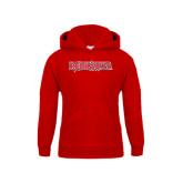 State Youth Red Fleece Hood-Redhawks
