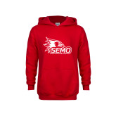 Bookstore Youth Red Fleece Hoodie-SEMO Logo