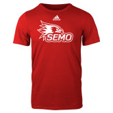Bookstore Adidas Red Logo T Shirt-SEMO Logo
