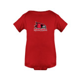 Red Infant Onesie-Official Logo
