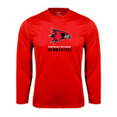 State Syntrel Performance Red Longsleeve Shirt-Gymnastics