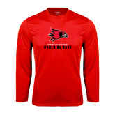 State Syntrel Performance Red Longsleeve Shirt-Marching Band