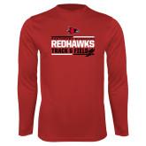 Bookstore Performance Red Longsleeve Shirt-Track & Field