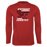 Bookstore Performance Red Longsleeve Shirt-Cross Country