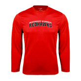 State Syntrel Performance Red Longsleeve Shirt-Arched Southeast Missouri Redhawks
