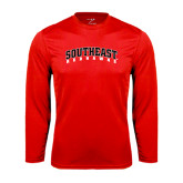 State Syntrel Performance Red Longsleeve Shirt-Southeast Redhawks