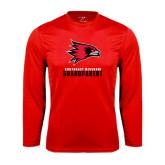 Performance Red Longsleeve Shirt-Grandparent