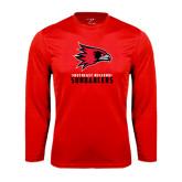 Performance Red Longsleeve Shirt-Sundancers