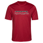 Bookstore Performance Red Heather Contender Tee-Southeast Missouri Redhawks