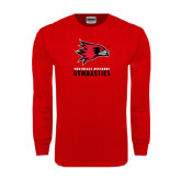 Red Long Sleeve T Shirt-Gymnastics