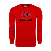 Red Long Sleeve T Shirt-Marching Band