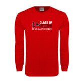 Red Long Sleeve T Shirt-Class of Outline