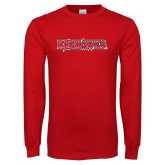 Bookstore Red Long Sleeve T Shirt-Redhawks