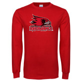 Bookstore Red Long Sleeve T Shirt-Official Artwork Distressed 1