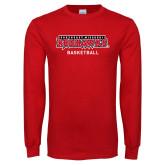 Bookstore Red Long Sleeve T Shirt-Basketball