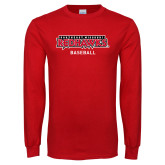 Bookstore Red Long Sleeve T Shirt-Baseball