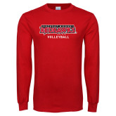 Bookstore Red Long Sleeve T Shirt-Volleyball