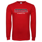 Bookstore Red Long Sleeve T Shirt-Gymnastics