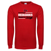 Bookstore Red Long Sleeve T Shirt-Track & Field