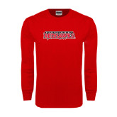 Red Long Sleeve T Shirt-Southeast Missouri Redhawks