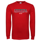 Bookstore Red Long Sleeve T Shirt-Dad