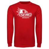 Bookstore Red Long Sleeve T Shirt-Grandpa