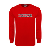 Red Long Sleeve T Shirt-Redhawks