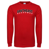 Red Long Sleeve T Shirt-Southeast Redhawks