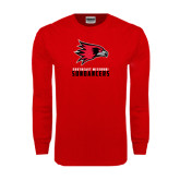 Red Long Sleeve T Shirt-Sundancers