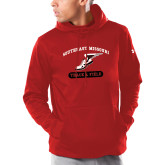 Bookstore Under Armour Red Armour Fleece Hoodie-Track & Field