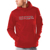 Bookstore Under Armour Red Armour Fleece Hoodie-Redhawks