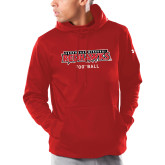 Bookstore Under Armour Red Armour Fleece Hoodie-Football