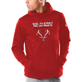 Bookstore Under Armour Red Armour Fleece Hoodie-Basketball