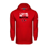 Under Armour Red Performance Sweats Team Hoodie-Tennis Game Set Match