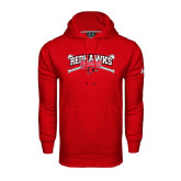 State Under Armour Red Performance Sweats Team Hood-Baseball Bats
