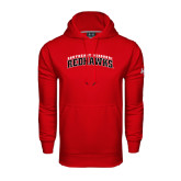 Under Armour Red Performance Sweats Team Hoodie-Arched Southeast Missouri Redhawks