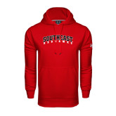 State Under Armour Red Performance Sweats Team Hood-Southeast Redhawks