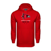 State Under Armour Red Performance Sweats Team Hood-Soccer