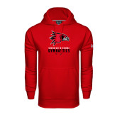 Under Armour Red Performance Sweats Team Hoodie-Gymnastics