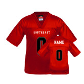 Youth Replica Red Football Jersey-Personalized